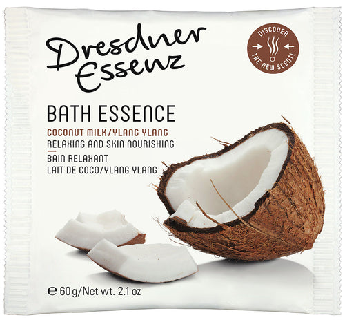 Coconut Milk and Ylang Ylang Bath Essenz, 10 sachets per pack