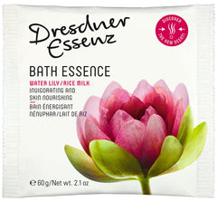 Water Lily and Rice Milk Bath Essence, 10 sachets per pack