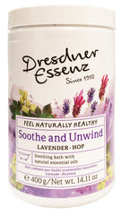 Soothe and Unwind Bath Essence, 400g plastic jar