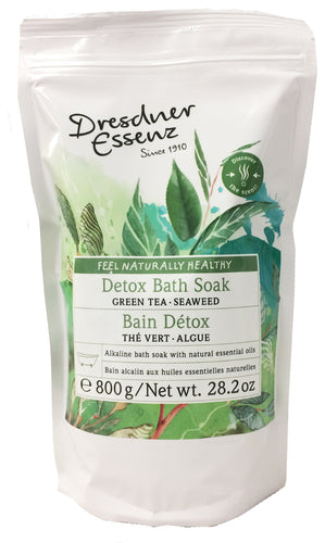 Green Tea Detox Bath Soak, 800g resealable bag