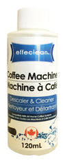 Effeclean Coffee Machine Cleaner, 120ml