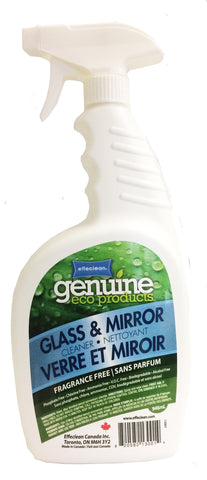 Effeclean Glass & Mirror cleaner, Fragrance Free, 946ml