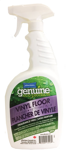 Effeclean Vinyl Floor Cleaner, Fragrance Free, 946mL