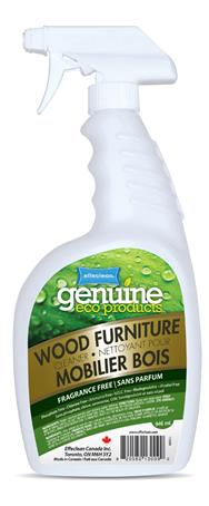 Effeclean Wood Furniture Cleaner, Fragrance Free, 946mL