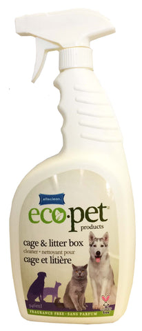 Effeclean Eco-Pet cage & Litter Box Cleaner ( Fragrance Free) 946 mL