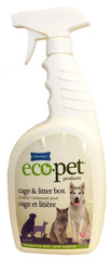 Effeclean Eco-Pet cage & Litter Box Cleaner, Fragrance Free, 946 mL