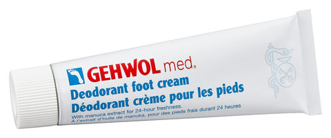 Gehwol med Deodorant Foot Cream, 75ml