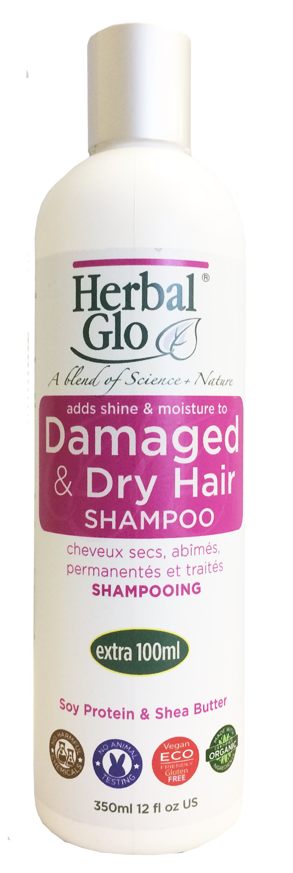 Shampoo, Dry/Damaged, 350ml