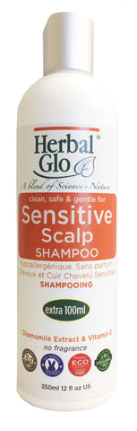 Sensitive Hair and Scalp Shampoo, 350ml