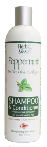 Peppermint Shampoo & Conditioner, 350ml