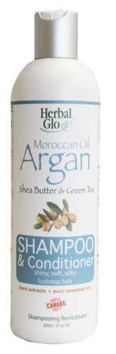 Moroccan Oil Argan Shampoo + Conditioner, 350ml