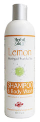 Lemon Matcha Tea Shampoo + Body Wash, 350ml