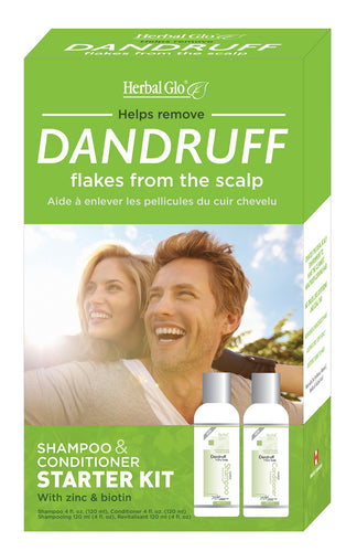 Dandruff & Flake Removal Shampoo & Conditioner Kit