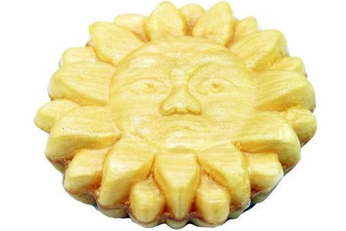 Gold Sun Shape Soap, 25g