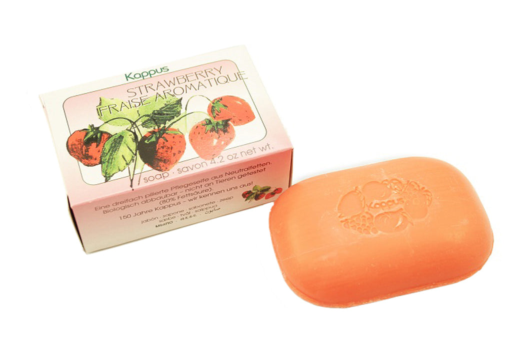 Strawberry Soap, Boxed, 125g
