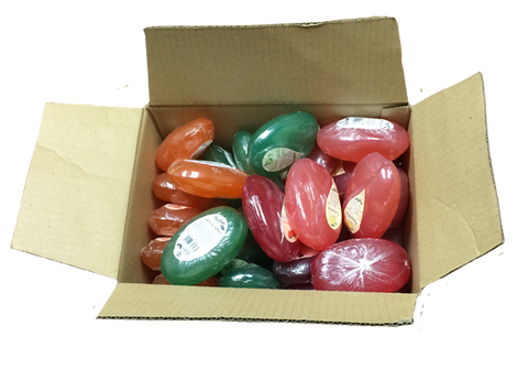 Discounted KAPPUS Soaps - 24 bar box - fruit, floral, natural or vaseline