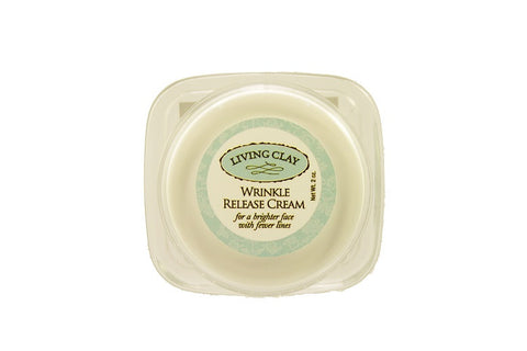 Living Clay Wrinkle Release Cream, 2 oz.