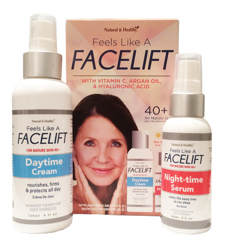 Feels Like a Facelift 40+ Day & Night Cream