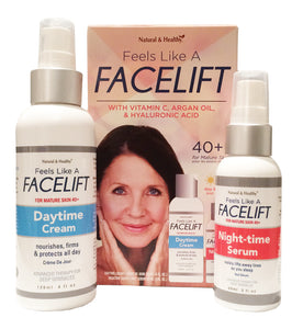 Feel Like a Facelift 40+ Day & Night Cream