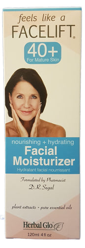Feels Like a Facelift 40+ Facial Moisturizer, 120ml
