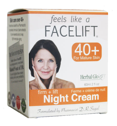 Feel Like a Facelift 40+ Night Cream, 60ml