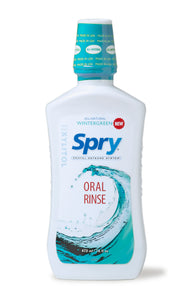 Spry Oral Rinse, Wintergreen, 473ml
