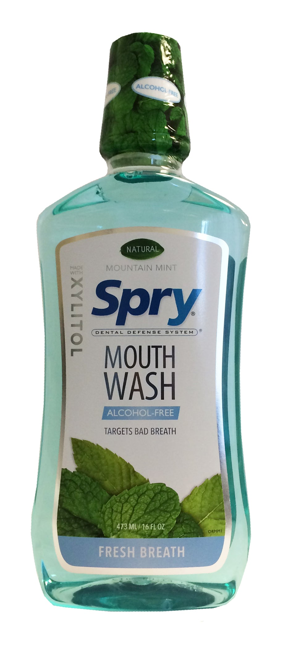 Spry Oral Rinse, Mountain Mint, 473ml
