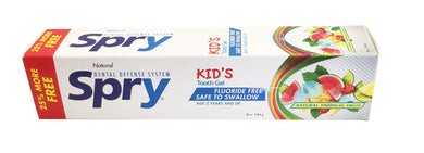 Spry Kid's Gel, Tropical Fruit Toothpaste, 141g Tube