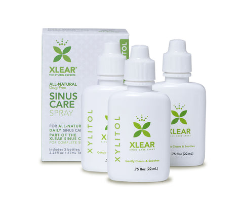 Xlear Nasal Wash 3-Pack 66ml