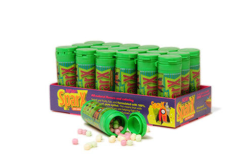 Sparx Candy Pack, 18 tubes, 30 grams per tube, Fruit