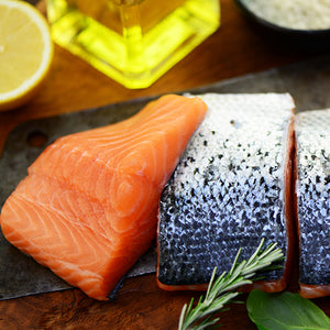 10no. Skin on Salmon Portions 100-140g