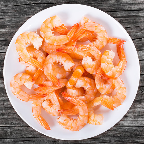 31/40 Large Cooked & Peeled Tail on King Prawns