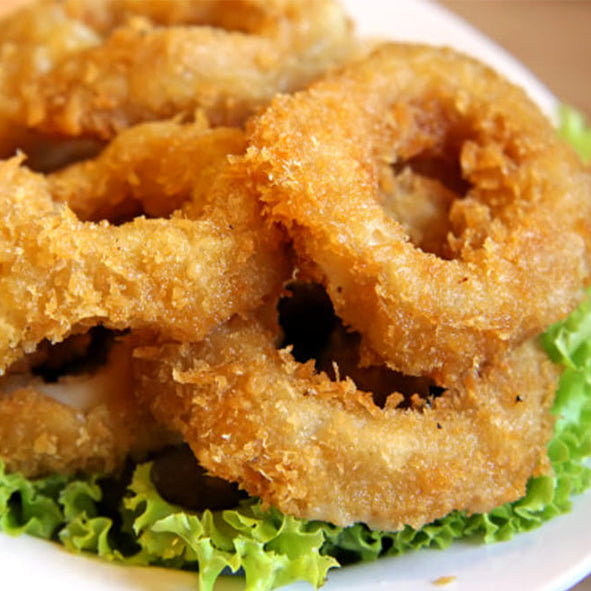 Battered Squid Rings