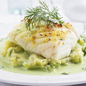 Cod Fillets in Tarragon Sauce