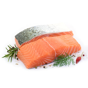 2no. Skin on Salmon Portions