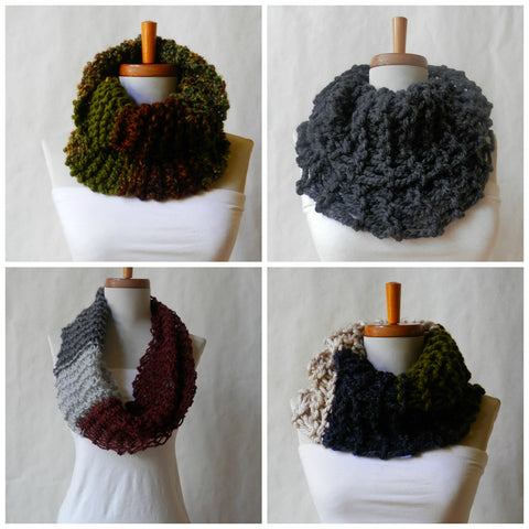 Scottish Highlands Cowl/Neckwarmers by Maya's Ideas