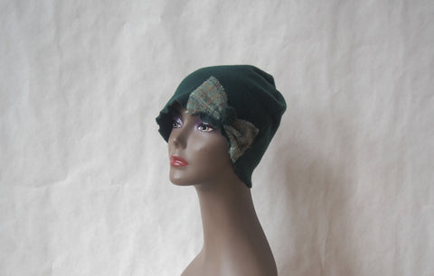 Dublin Gardens Fleece Cloche by Maya's Ideas