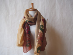 Utopia Eco Friendly Scarf/Shawl with Gemstone Accents