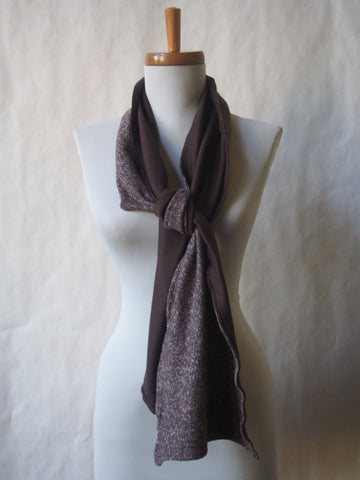 Eco Friendly Organic Hemp & Organic Cotton Unisex Scarf by Maya's Ideas Choose From Infinity or Open