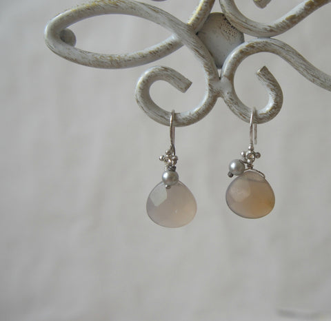 Ombre Quartz Earrings