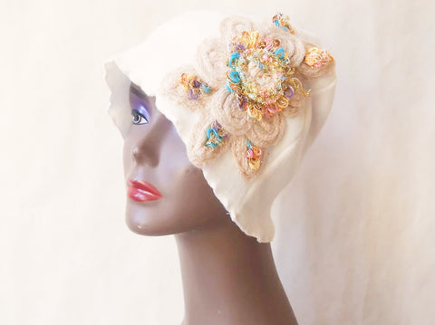 Snowy Blooms Eco Friendly Cloche by Maya's Ideas
