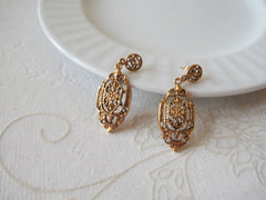 Regal Filagree Earrings