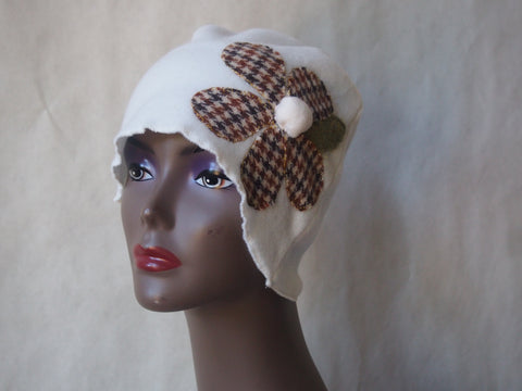Plaid Posey Eco Friendly Cloche by Maya's Ideas