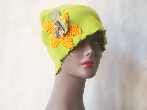 Lush Lime Eco Friendly Cloche by Maya's Ideas