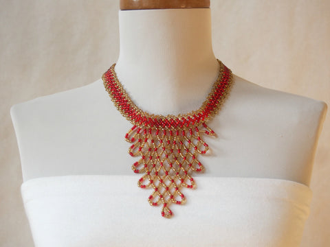 Summer In Cannes Beaded Necklace