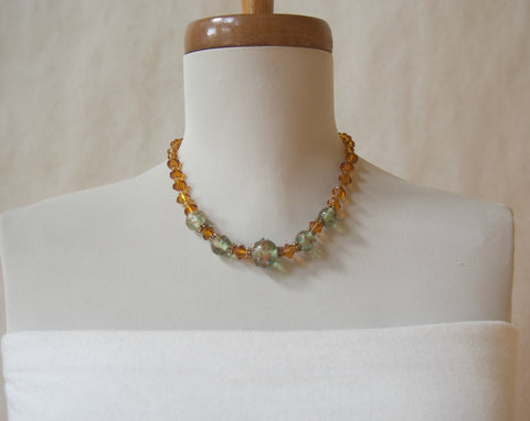 Murano Glass Lamp Work Necklace
