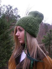 Green Chimney Hat- Eco Friendly