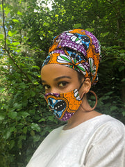 Artisan African Print (HEADWRAP ONLY)