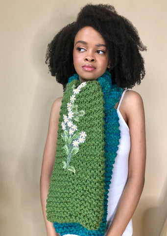 Terra Flora Upcycled Yarn Shrug (Limited)