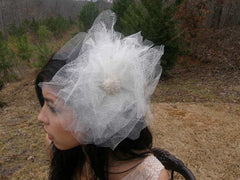 Featured In Redbook Magazine Eco-friendly The Dandelion (La Dent-De-Lion) Hair Comb/Fascinator